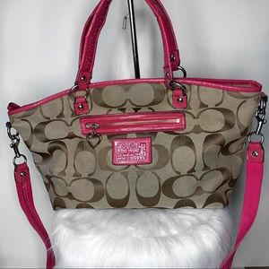 EXTRA LARGE Coach Poppy Satchel